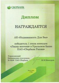 Сертификат Сбербанка на ИП